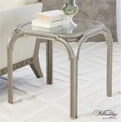 Global Views Williamsburg Collection Forged Pearl Side Table