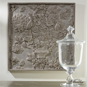 Global Views Williamsburg Collection Portobello Panel-Grey