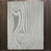 Global Views Wood Grain Rug-5' x 8'