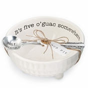 Mud Pie Guacamole Dip Cup Set