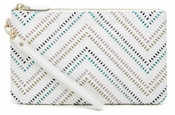 Handbag Butler Mighty Purse Wristlet - Tribal White - CLOSEOUT