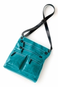 Harper Cross-Body Bag Aqua