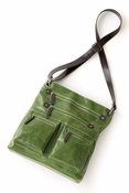 Harper Cross-Body Bag Leaf Green