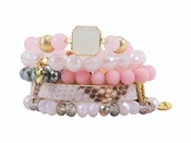 Erimish Bracelet Set Honey Bracelet Stack