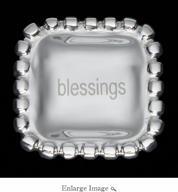 Inspired Generations Blessings Pearl Square Bowl