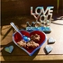 Inspired Generations Hot Red Lil Heart Dish with Heart Spoon