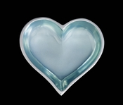 Inspired Generations March Aquamarine Heart With Heart Spoon