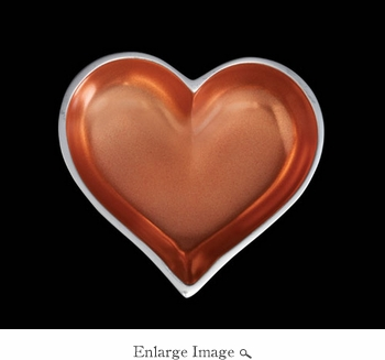 Inspired Generations November Topaz Heart With Heart Spoon