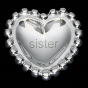 Inspired Generations Sister Pearl Heart Bowl