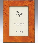 Tizo Italian Wood Frame Orange 8x10