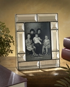 J Devlin Art Glass Picture Frame Beveled
