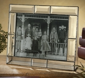 J Devlin Art Glass Picture Frame Beveled 8x10 Horizontal
