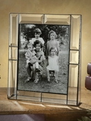 J Devlin Art Glass Picture Frame Beveled 8x10 Vertical