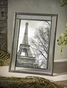 J Devlin Art Glass 4x6 Vertical Picture Frame Clear Flute Glass