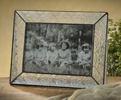 J Devlin Art Glass Picture Frame Vintage