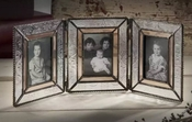 J Devlin Art Glass 2x3 Triple Hinged Picture Frame