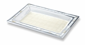 "Julia Knight Classic 12"" Vanity Tray Snow"