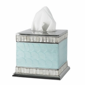 "Julia Knight Classic 5"" Tissue Cover Aqua"
