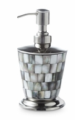 "Julia Knight Classic 7"" Soap/Lotion Dispenser Tahitian Pearl"