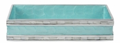 "Julia Knight Classic 9"" Guest Towel Tray Aqua"