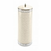 SOLD OUT Julia Knight Classic Toilet Tissue Covered Holder Snow