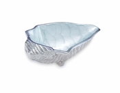"Julia Knight Conch Shell 8.25"" Bowl Hydrangea"