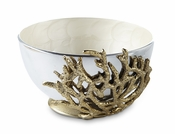 "Julia Knight Coral 7.5"" Bowl Snow"