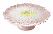 "Julia Knight Dahlia 14"" Footed Cake Plate"