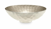 "Julia Knight Diamond 13"" Round Bowl Platinum"