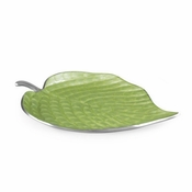 "Julia Knight Hosta 13"" Platter  Kiwi"