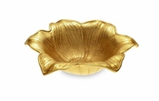 "Julia Knight Lily 15"" Bowl Gold"