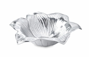"Julia Knight Lily 15"" Bowl Silver"