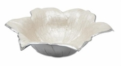"Julia Knight Lily 15"" Bowl Snow"