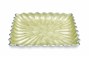 "Julia Knight Peony 9"" Square Tray Kiwi"
