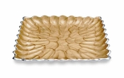 "Julia Knight Peony 9"" Square Tray Toffee"