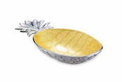 "Julia Knight Pineapple 11.5"" Bowl Saffron"