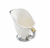 "Julia Knight Queen Bee 6.5"" Mini Pitcher Snow"