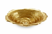 "Julia Knight Rose 15"" Bowl Gold"