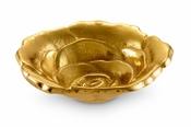 "Julia Knight Rose 4"" Petite Bowl Gold"