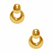 SOLD OUT Karine Sultan Gold Chunky, Drop Earrings - CLOSEOUT