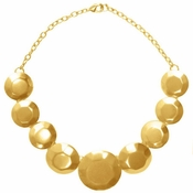 SOLD OUT Karine Sultan Gold Statement Necklace - CLOSEOUT