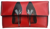 Kent Stetson Handbag Red Heels Clutch