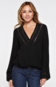 Lovestitch Bell Sleeve Wrap Top