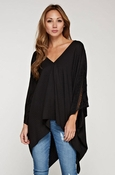 Lovestitch Double V Caftan Top