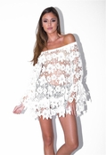 Muche et Muchette Marilyn Wild Flower Top - White