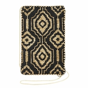 Mary Frances Arabesque Gold Cell Phone/Glasses Pouch