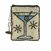 Mary Frances Cocktail Hour Coin Purse - Shipping January 2018