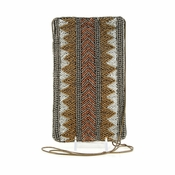 Mary Frances Culture Shock Cell Phone Glasses Pouch