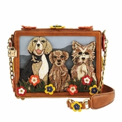 Mary Frances Dog Park Bag
