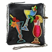 Mary Frances Drinks on Me Mini Bag